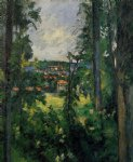 auvers by paul cezanne paintings