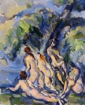 bathers by paul cezanne painting