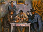 card players by paul cezanne painting