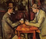 cardplayers by paul cezanne painting