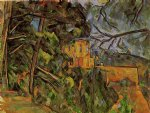 chateau noir ii by paul cezanne painting