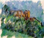 chateau noir iii by paul cezanne painting
