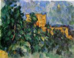 chateau noir by paul cezanne painting