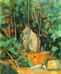 cistern in the park at chateau noir by paul cezanne painting