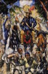 don quixote seen from the front by paul cezanne painting
