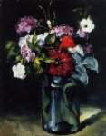 paul cezanne flowers in a vase ii painting 27708