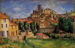 gardanne by paul cezanne painting