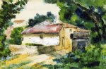 house in provence iii by paul cezanne painting