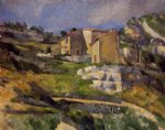 houses in provence by paul cezanne painting