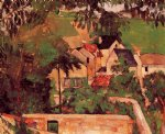 paul cezanne landscape at auvers painting