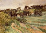 landscape in provence by paul cezanne painting