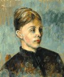madame cezanne ii by paul cezanne painting