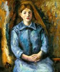 madame cezanne iv by paul cezanne painting