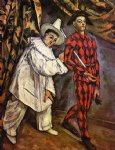 mardi gras by paul cezanne painting