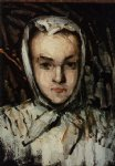 marie cezanne the artist s sister by paul cezanne painting