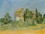 montbriant by paul cezanne painting