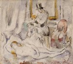 olympia by paul cezanne painting