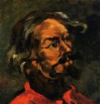 portrait paintings - portrait of achille emperaire by paul cezanne