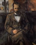 portrait paintings - portrait of ambroise vollard by paul cezanne