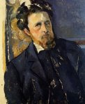 portrait paintings - portrait of joachim by paul cezanne
