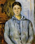 portrait of madame cezanne iii by paul cezanne painting