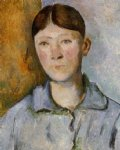 portrait of madame cezanne v by paul cezanne painting