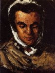 portrait of marie cezanne the artist s sister by paul cezanne painting