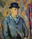 portrait of the artist s son paul by paul cezanne painting