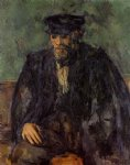 portrait of the gardener vallier by paul cezanne painting