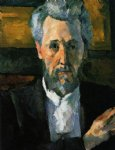 portrait of victor chocquet by paul cezanne painting