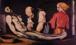 preparation for the funeral by paul cezanne painting