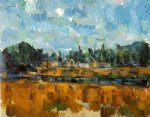 paul cezanne riverbanks paintings