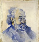 portrait paintings - self portrait 2 by paul cezanne