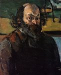 self portrait 6 by paul cezanne painting