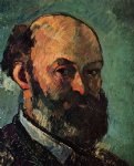 self portrait 7 by paul cezanne painting