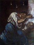 sorrow by paul cezanne painting