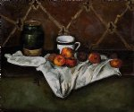 still life ii by paul cezanne painting