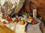 still life with apples ii by paul cezanne painting