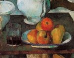 still life with apples iii by paul cezanne painting