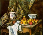 paul cezanne still life with flower holder painting 27936