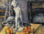 still life with plaster cupid ii by paul cezanne painting