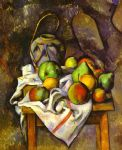 straw vase by paul cezanne painting