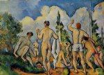 the bathers ii by paul cezanne painting