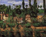 the chateau de madan by paul cezanne painting