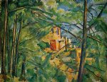 the chateau noir ii by paul cezanne painting