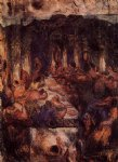 the feast ii by paul cezanne painting