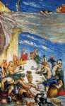the feast by paul cezanne painting