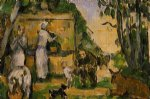the fountain ii by paul cezanne painting