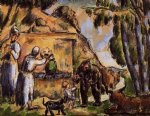 the fountain by paul cezanne painting
