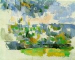 the garden at les lauves by paul cezanne paintings-28003